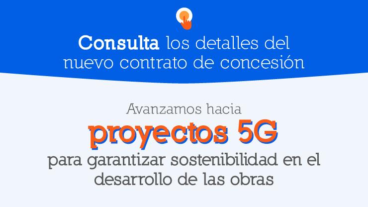 Los proyectos de Quinta Generación (5G) tendrán como eje central la sostenibilidad y los temas sociales