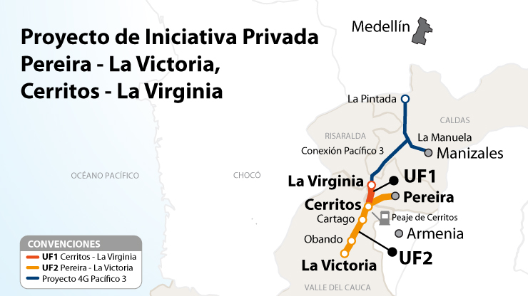 Inquietudes del proyecto Pereira - La Victoria, Cerritos - La Virginia, fueron atendidas por el Gobierno Nacional