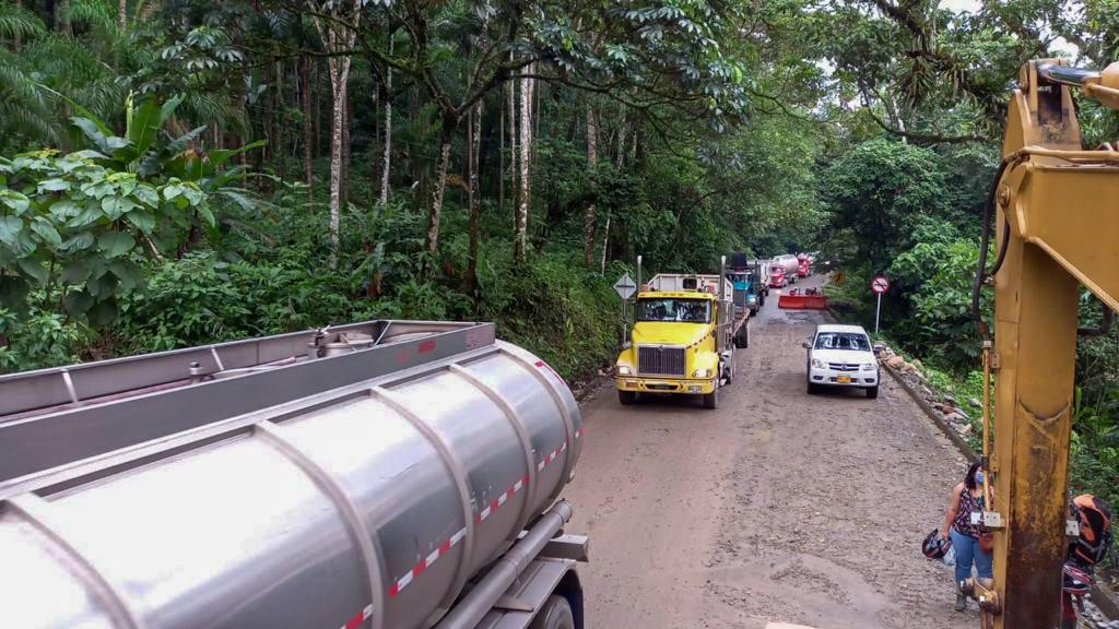 A través de Concesión Aliadas para El Progreso, la ANI y la DITRA dan apertura a la vía Villagarzón-Mocoa
