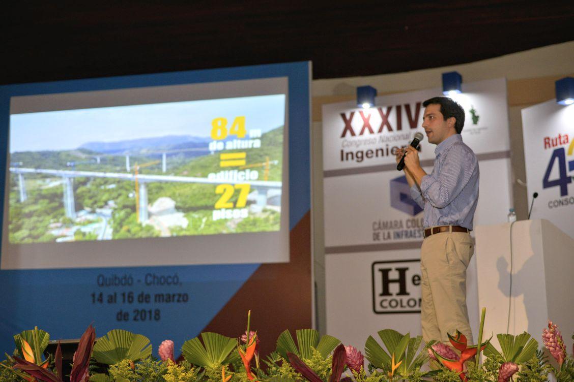 En Chocó, ANI presentó a gremio de ingenieros avances en infraestructura