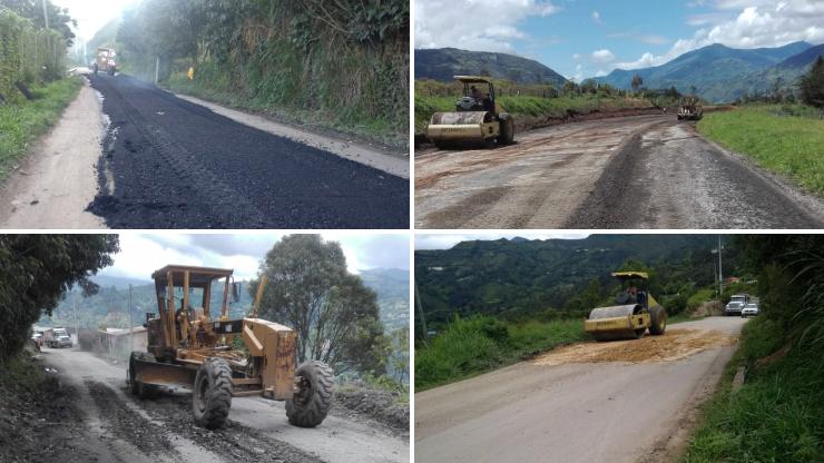 Avanzan intervenciones en la vía Choachí-Ubaque-Cáqueza