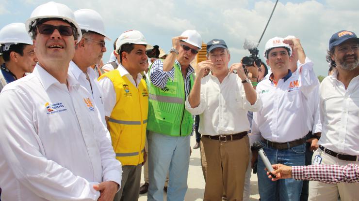 En junio de 2018 se entregaría Viaducto sobre Ciénaga de la Virgen en Cartagena