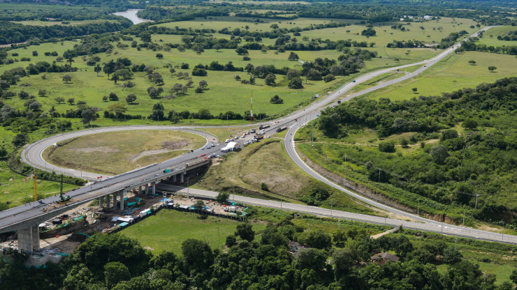 Así van las obras en la Autopista 4G Girardot-Honda-Puerto Salgar