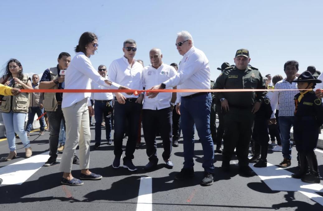 Nueva calzada del Puente Benito Hernández permite mayor movilidad entre Cúcuta y Los Patios