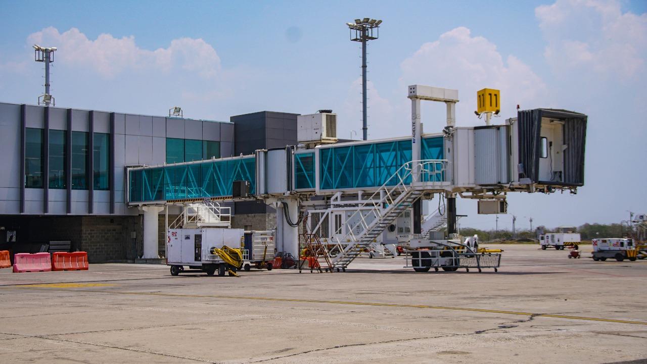 Obras de modernización del Aeropuerto de Barranquilla avanzan en 58%: Mintransporte