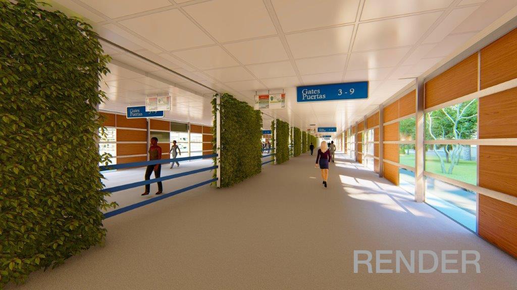 Inician obras de ampliación de pasillos de embarque y desembarque en el Aeropuerto Rafael Núñez de Cartagena