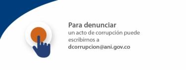 Para denunciar un acto de corrupción