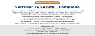 Corredor 4G Cúcuta Pamplona