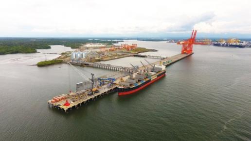 Gobierno Nacional inauguró el Puerto Industrial de Aguadulce en Buenaventura