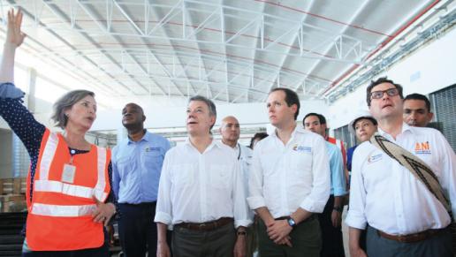 Gran avance en centro de servicios del aeropuerto de Quibdó. Estará listo antes de finalizar el año