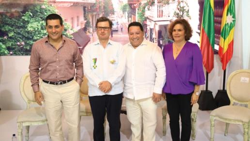 Gobernación de Bolívar, Alcaldía de Cartagena y Consejo Gremial de Bolívar exaltan la gestión y compromiso del presidente de la ANI con la infraestructura de la región