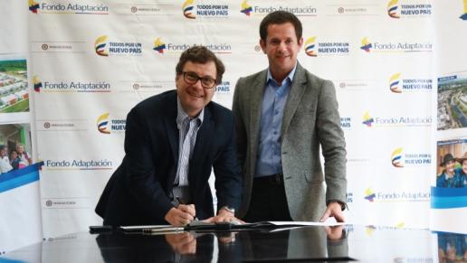 Fondo Adaptación y ANI firman convenio para estructuración del megaproyecto del Canal del Dique