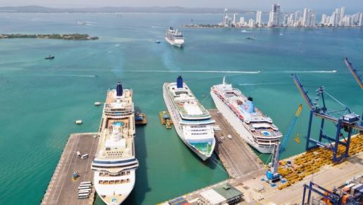 Se extiende temporada de cruceros en el puerto de Cartagena