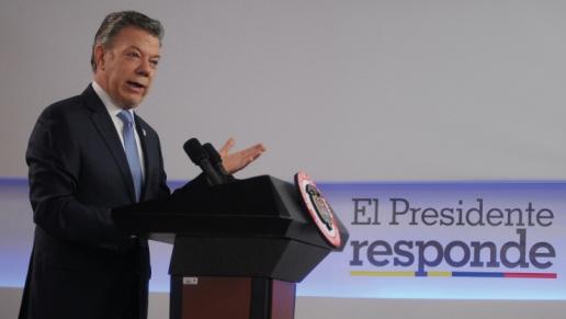 La transparencia de la revolución de la infraestructura es reconocida por la comunidad nacional e internacional: Presidente Santos