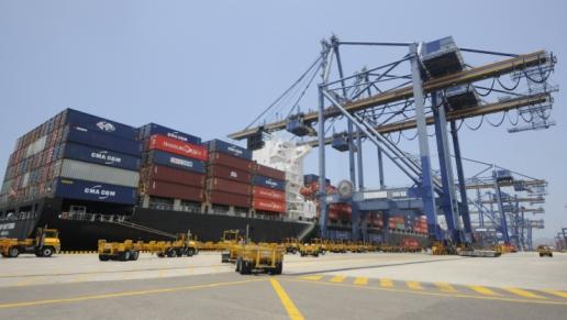 ANI autorizó al Puerto de Cartagena la instalación de dos nuevas grúas pórtico