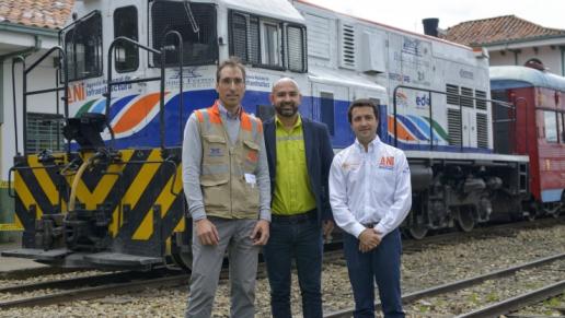 ANI reactivó la operación comercial de los corredores férreos Bogotá – Belencito y Dorada – Chiriguaná