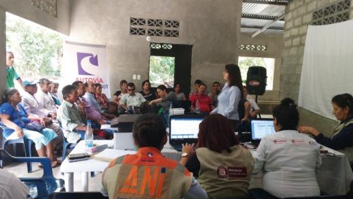 Concesión de la ANI, Autovía Neiva Girardot, realizó protocolización de tres consultas previas con comunidades indígenas del Tolima