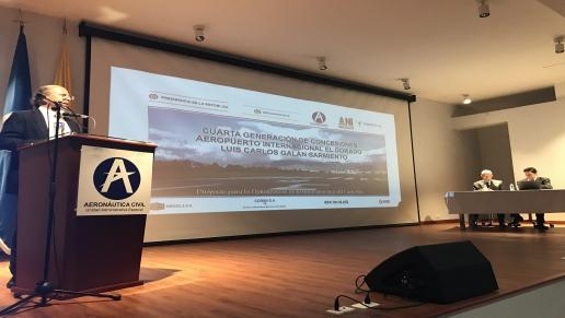 ANI socializó proyecto de iniciativa privada para la optimización de pistas de El Dorado
