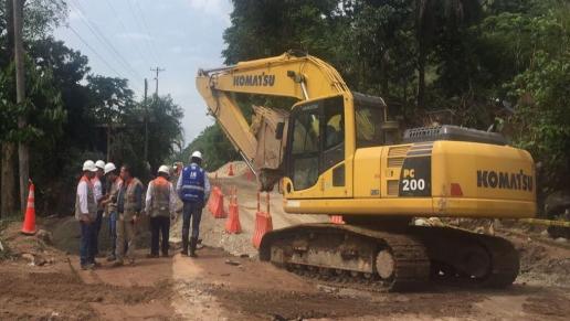 Gobierno inicia preparativos para instalación de puente metálico en Mocoa