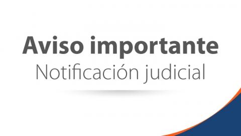 Publicación Auto de Suspensión de Términos Procesales en materia disciplinaria
