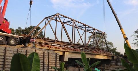 Obras en vía férrea Chiriguaná – Santa Marta, continúan consolidando este modo de transporte