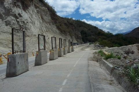 Se avanza en segunda fase de obras para la recuperación del kilómetro 21 de la vía Gigante – Garzón
