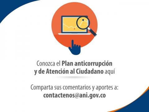 Clic aquí para conocer el proyecto del Plan Anticorrupción y Atención al Ciudadano 2017