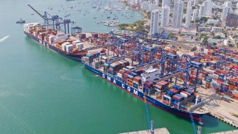 Vía libre a la construcción de 29.000 m2 de patios para contenedores en puerto de Cartagena