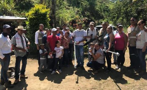En Uramita, Antioquia, asociación campesina es beneficiada con elementos de trabajo