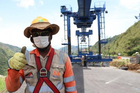El 80% de trabajadores han retornado a obras de infraestructura en el país