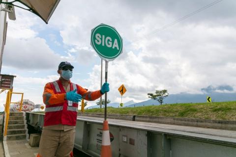 Bienestar y tranquilidad en retorno de trabajadores a obras de infraestructura