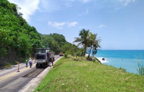 Mantenimiento de dos tramos del proyecto Santa Marta-Riohacha-Paraguachón, culminará a final del 2020