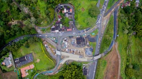 Gobierno Nacional mejora conexión entre Dosquebradas y Santa Rosa de Cabal, en Risaralda, con la construcción de intersección a desnivel