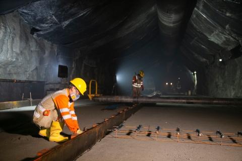 El túnel La Quiebra, una obra que reducirá de 40 a 8 minutos, el recorrido entre los corregimientos de Santiago y El Limón, en Antioquia