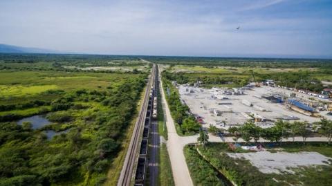 Corredor férreo entre Santa Marta y Chiriguaná movilizó 35.5 millones de toneladas de carbón en 2020