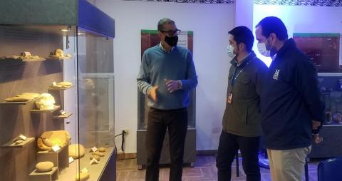 Con 7.400 piezas de la cultura prehispánica, ANI inaugura Museo Arqueológico en el municipio de Belalcázar, Caldas