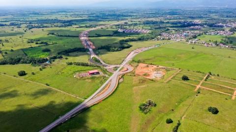 Variante de Cumaral registra un 90% de avance en su construcción y será entregada por el Gobierno en agosto