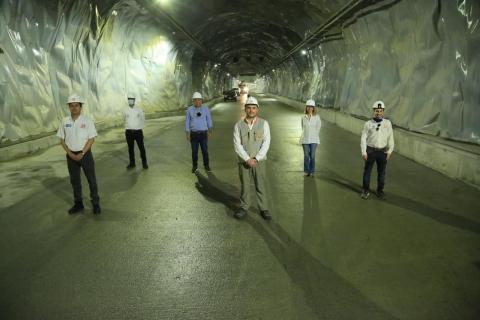 Las Vías del Nus alcanzan el 87% de avance y han generado más de tres mil empleos en el Nordeste antioqueño