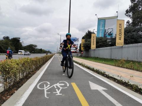 El 57% de los trabajadores del proyecto Accesos Norte a Bogotá usan la bicicleta como medio de transporte