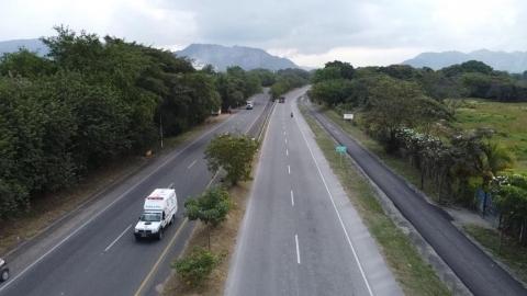 27,5 kilómetros de ciclorruta complementarán las obras viales del corredor vial Girardot-Ibagué-Cajamarca
