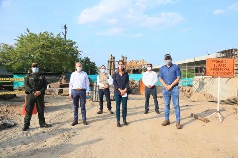 Vicepresidenta supervisa proyecto vial Villavicencio- Yopal, que registra un avance del 43%