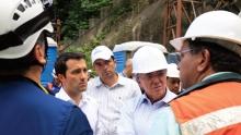 Avanza investigación sobre el colapso del viaducto Chirajara