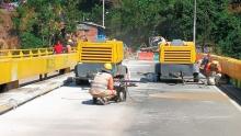 Comienzan las obras de reparación del Puente de Irra