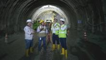 Con avance en construcción del túnel de Tesalia, Pacífico 3 es la 4G más adelantada en Antioquia