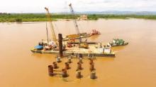 En Antioquia inició construcción del Nuevo Puente sobre el río Magdalena