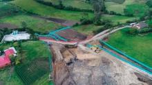 A mitad de año, Autopista 4G Rumichaca-Pasto habrá duplicado frentes de obra en construcción