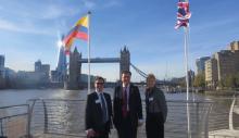 El presidente de la ANI integra equipo de Gobierno, en Visita de Estado al Reino Unido