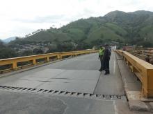 Cierre preventivo en el puente de Irra