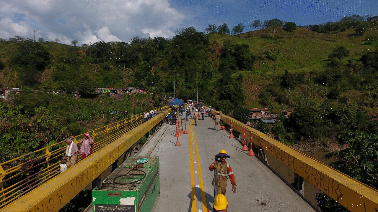 Este miércoles se habilita paso vehicular por el Puente de Irra