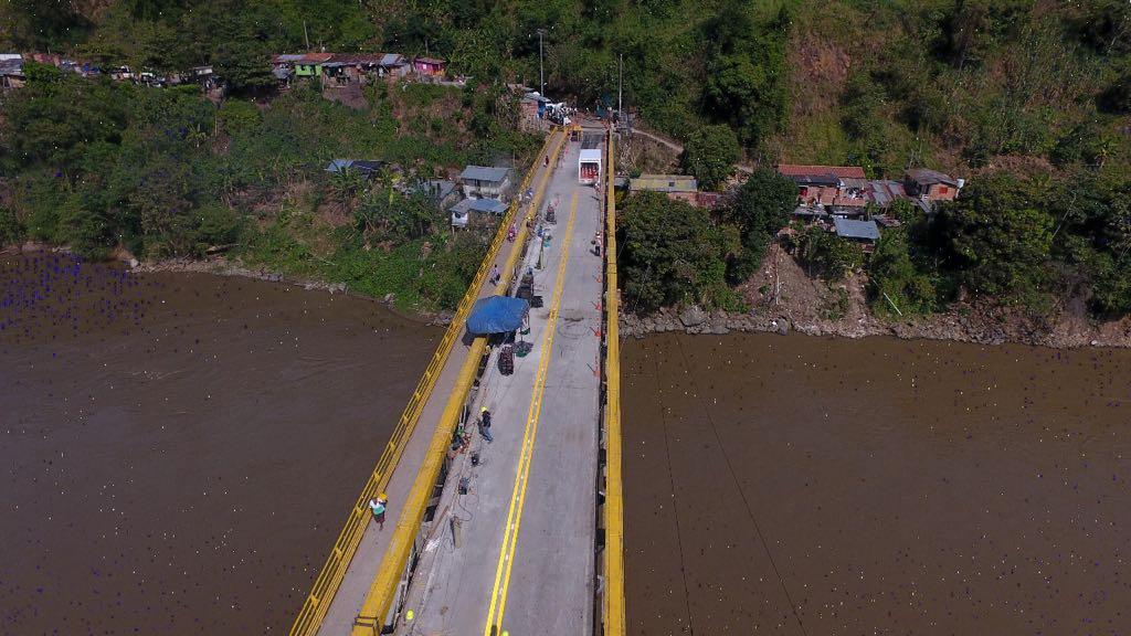 Este viernes se habilitará paso de vehículos de carga pesada por el Puente de Irra